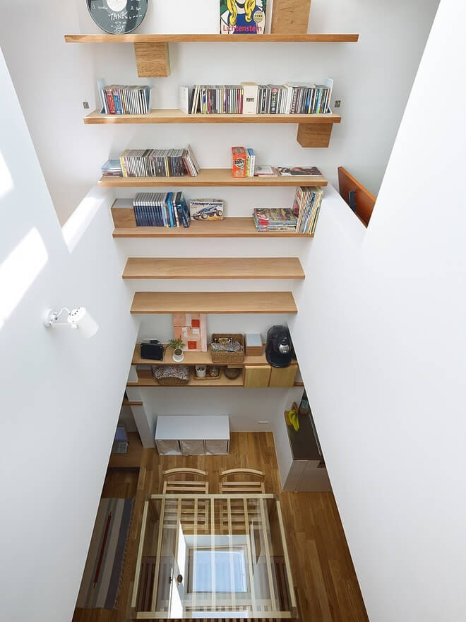 Invigorating Narrow House by Fujiwaramuro Architects