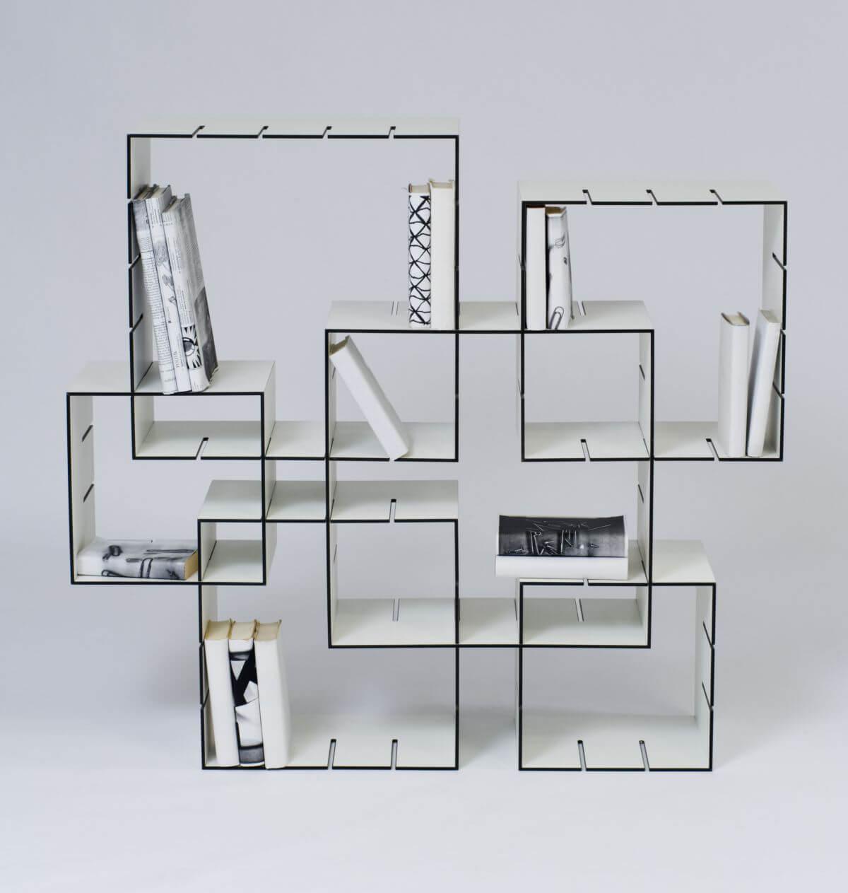konnex shelf design by florian gross bookcase porn. Black Bedroom Furniture Sets. Home Design Ideas