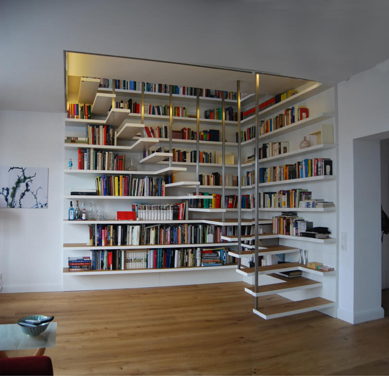 Book Stairs by DREIHAUSFRAUEN